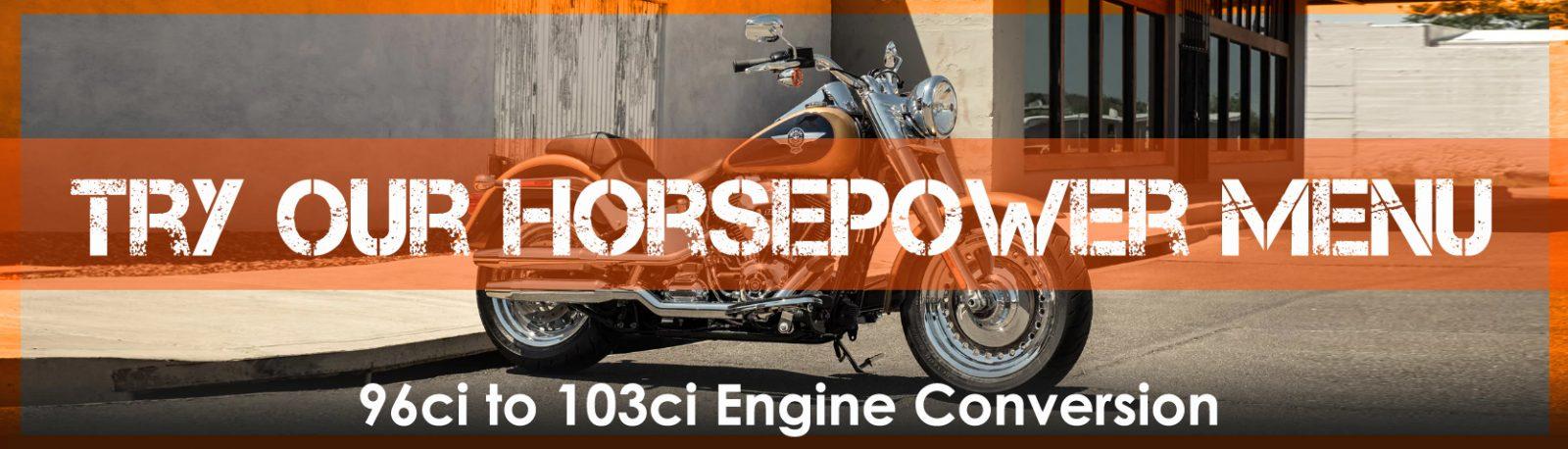 Horsepower menu