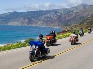 Harley davidson coastal cruises