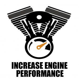 Increase engine performance harley