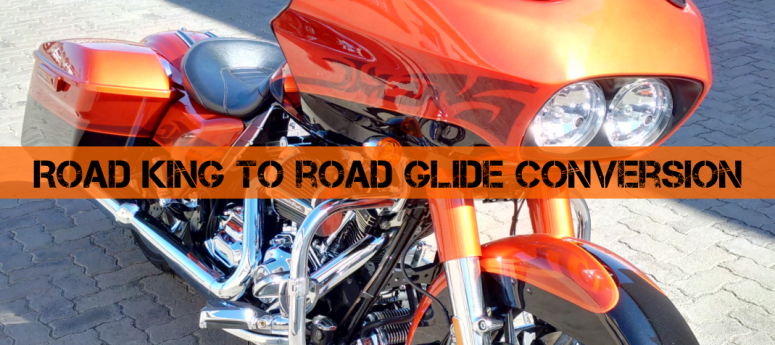Road King to Road Glide Conversion